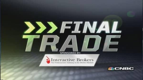 Fast Money Final Trade: C, CTRL, URI, FB