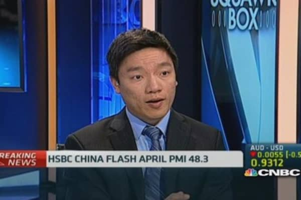 Conflicting signals in Chinese data: Nomura