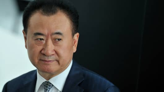 Wang Jianlin, Chairman of the Dalian Wanda Group.
