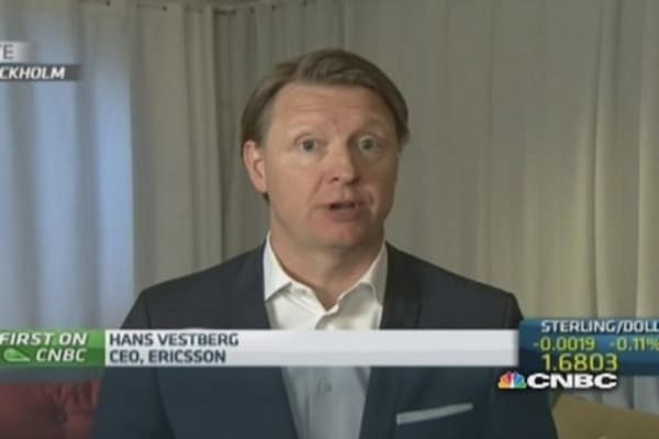 Revenue decline was expected: Ericsson CEO