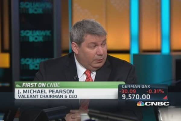 Valeant CEO: Deal will get done despite 'poison pill'