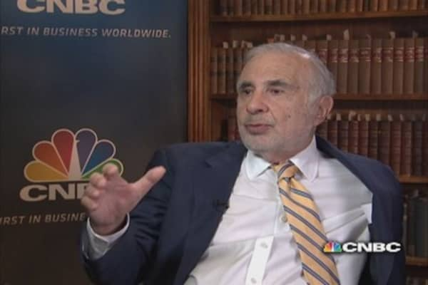 Icahn on Lipton, Ackman