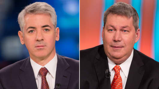 Bill Ackman and Michael Pearson