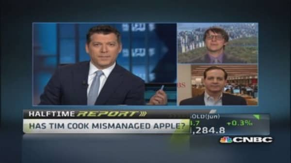 Is Apple mismanaged?