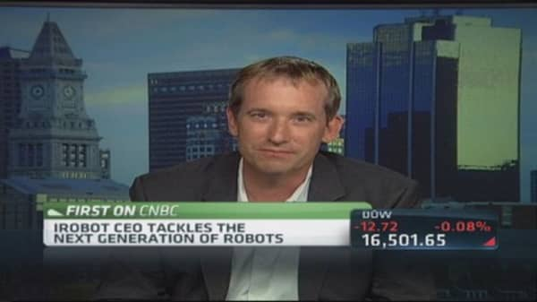 iRobot CEO: Great demand, but need Pentagon back on track