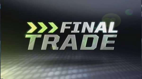 Fast Money Final Trade: SBUX, SPY, WLP, CHK