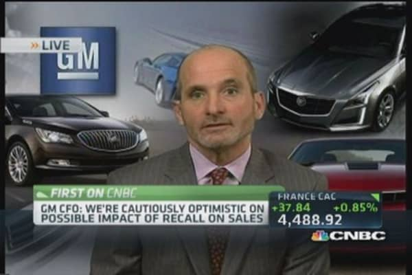 GM Q1 earnings mixed