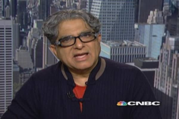 Deepak Chopra on 'Thinking Rich'
