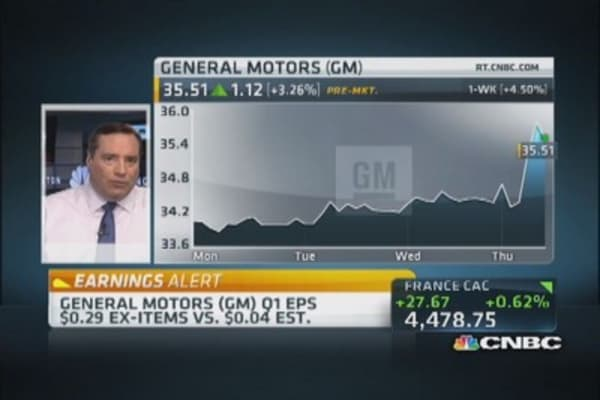 Confusion over GM earnings