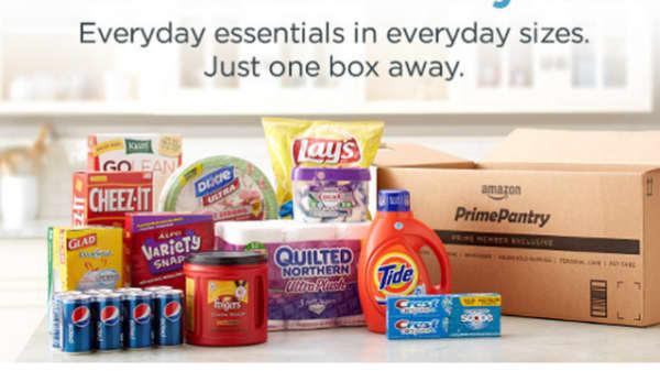 Amazon launches Prime Pantry.
