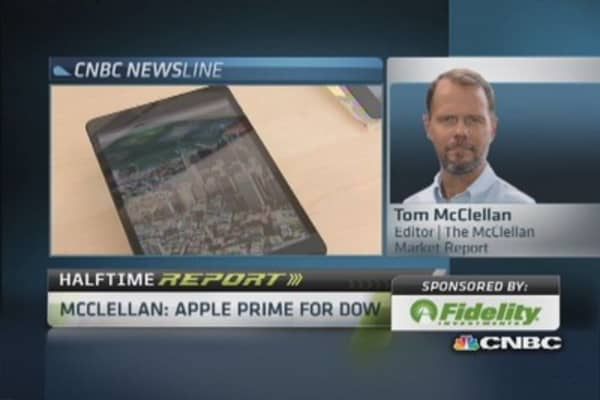 Apple likely to head to Dow: Pro