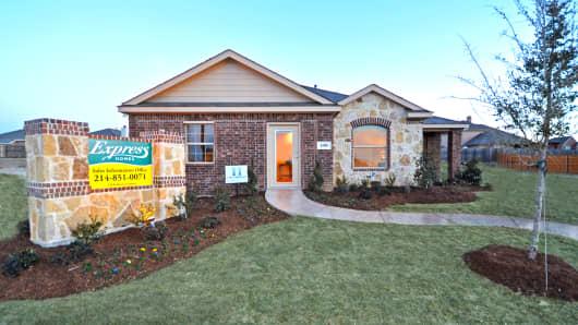 D.R. Horton bargain home in Dallas, Texas.