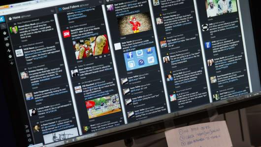 Social Media TweetDeck