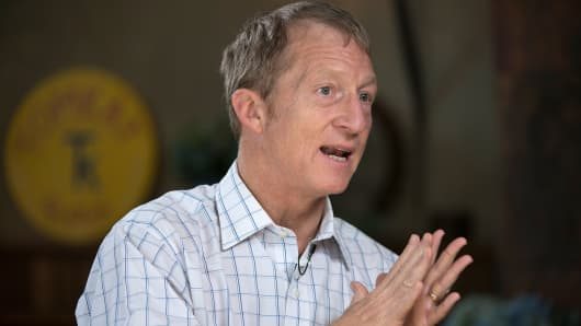 Thomas 'Tom' Steyer, founder of Farallon Capital Management LLC.