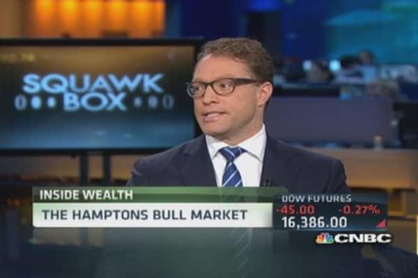 Hamptons' real estate market soars