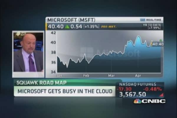 Cramer: Microsoft 'purging' Windows