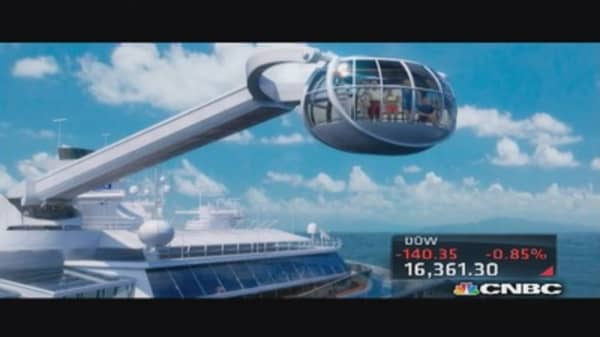 Royal Caribbean's 'floating' business