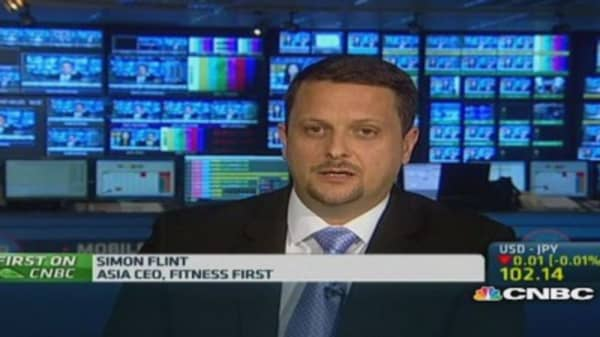 Fitness First: Seeing market in Asia mature