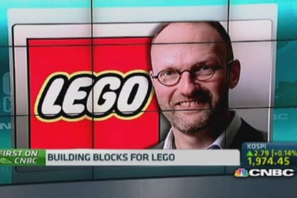 Lego: Why 'traditional toys' are still in the game