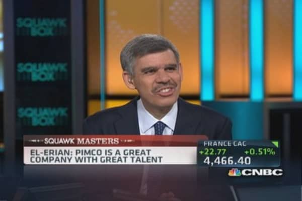 Leaving Pimco was a difficult decision: El-Erian