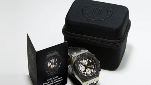 Audemars Piguet Royal Oak Offshore Chrono: $25,000.