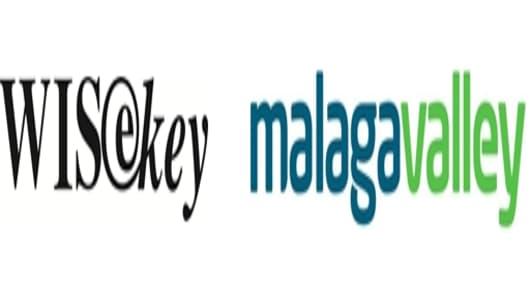 WISeKey/Malaga Valley composite logo