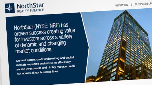 NorthStar Realty Finance website