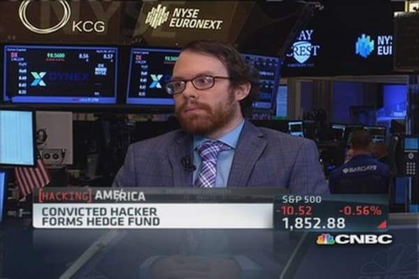 Convicted hacker starts hedge fund