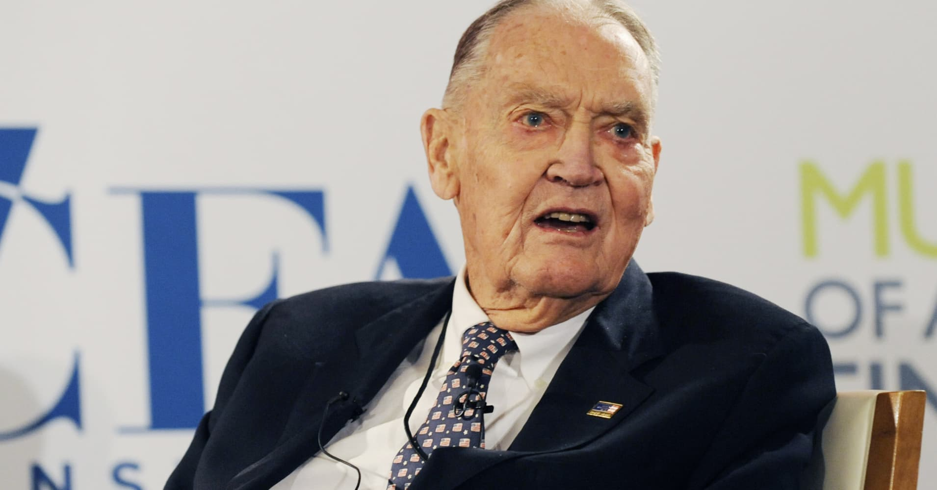 Jack Bogle: 'If you hold the stock market, you will grow with America'