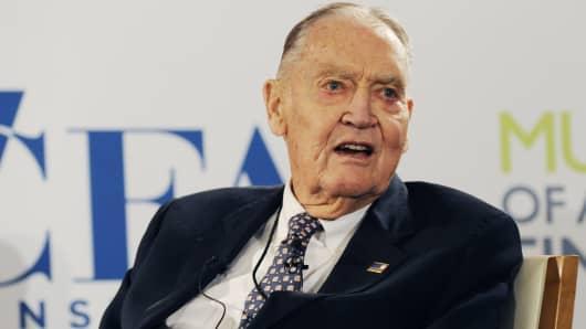 Vanguard founder Jack Bogle