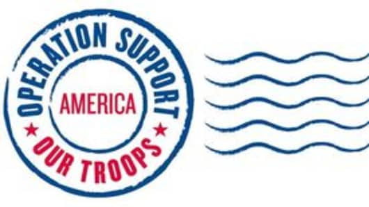 Operation Support Our Troops - America logo