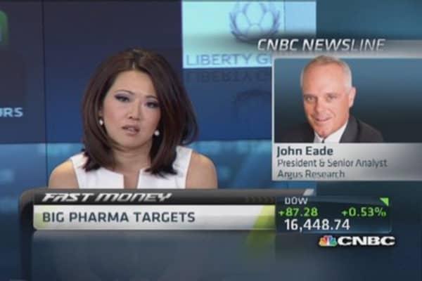 Big pharma targets and takeovers