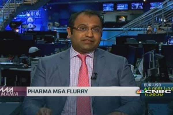 Pharma M&A frenzy set to continue: Pro