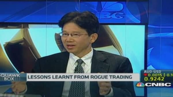 The lessons of one rogue trader