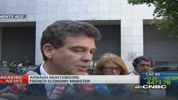 France to take 'necessary steps' on Alstom deal: Montebourg