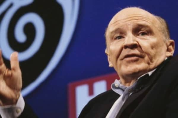 Jack Welch molds the model of the big-company CEO