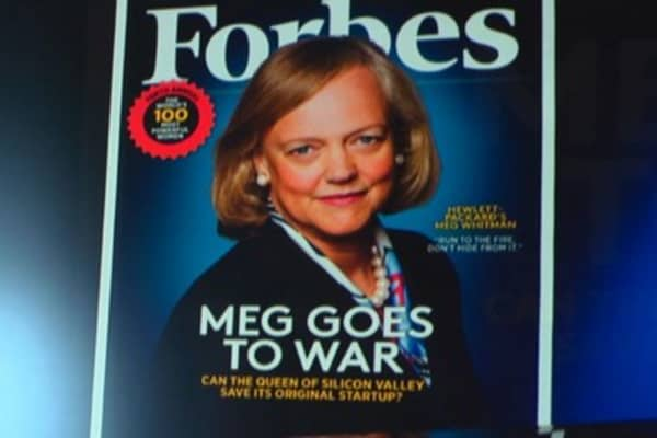 Meg Whitman breaks ground at Ebay, HP as top CEO