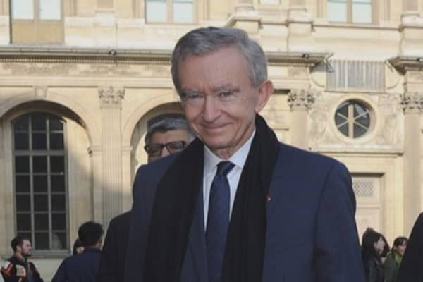 Bernard Arnault fashions an empire out of opulence