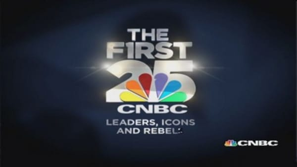 CNBC's top 25 unveiled