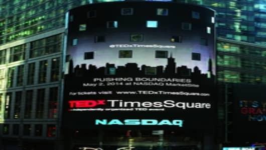 TEDxTimesSquare: Pushing Boundaries