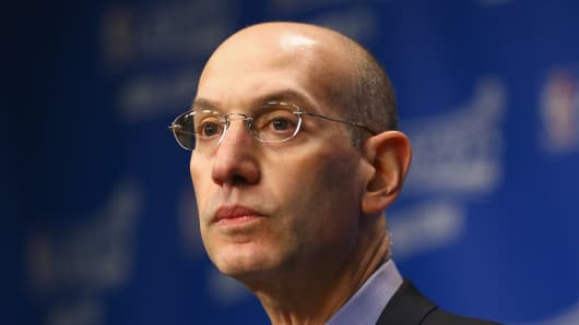 Adam Silver, NBA Commissioner.