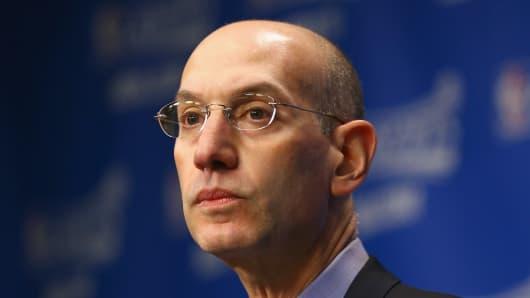Adam Silver, NBA Commissioner.