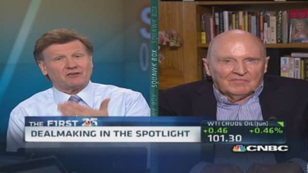 Jack Welch: Tax policy not rational