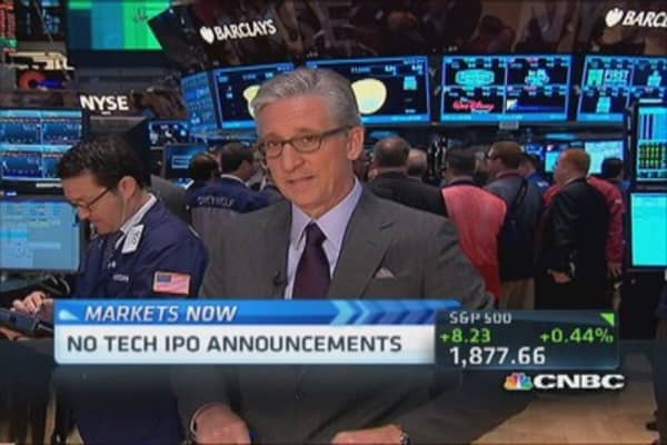 Pisani's markets: IPOs on hiatus?