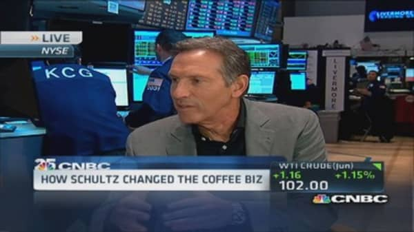 SBUX Schultz big picture on technology
