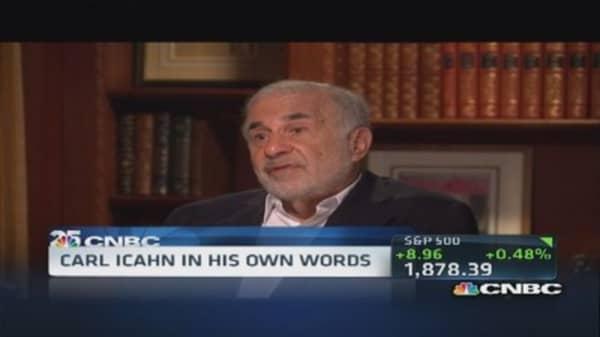 Carl Icahn: Savior of the economy?