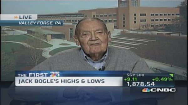 Jack Bogle: I've made mistakes