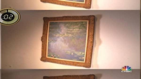 Heiress's multi-million dollar Monet up for grabs