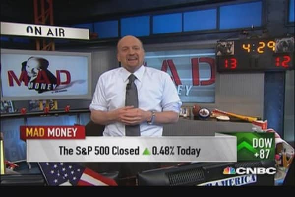 Market too similar to 2000: Cramer