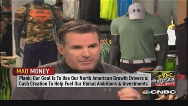 Under Armour CEO: Opportunity to be no. 1 brand in world
